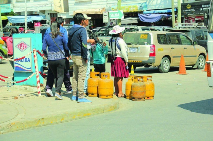 Con el Plan Chiri, la ANH garantiza el suministro de GLP en toda Chuquisaca