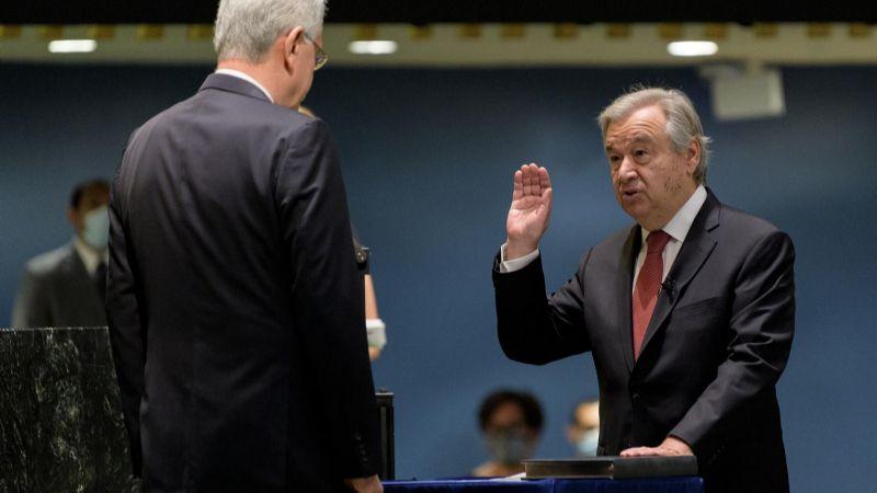La ONU confirma a Guterres por otros cinco años y Arce lo felicita