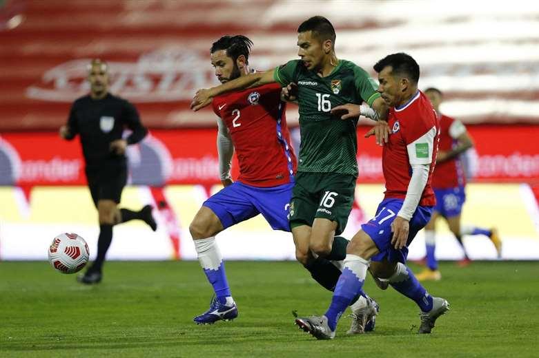 La selección boliviana volverá enfrentar a Chile en este mes. Foto: AFP