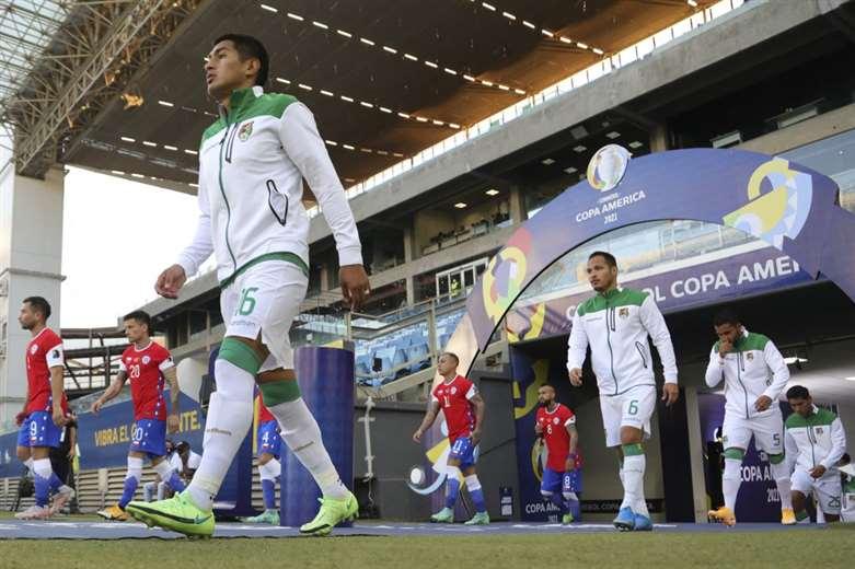 Bolivia perdió frente a Chile (1-0) - Foto: AFP