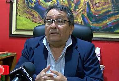 Daniel Pasquier, vocero de colegios privados pide no interrumpir la educación. Foto:Unitel