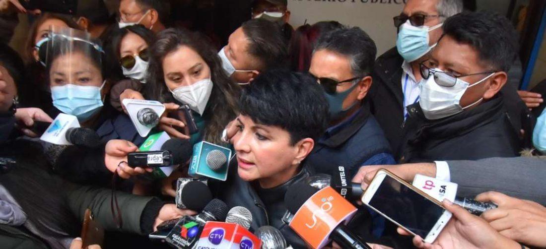 Susana Rivero en la Fiscalía I APG Noticias.