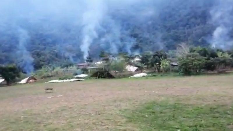 Vecinos de Mapiri denuncian quema de viviendas por parte de supuestos avasalladores