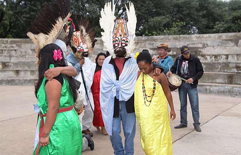 Los rituales se desarrollan en El Fuerte