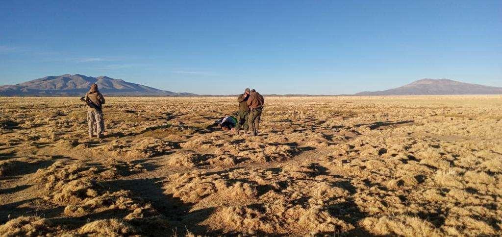 El cuerpo hallado en la frontera I Colchane.