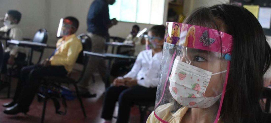 Niños del Trópico de Cochabamba pasan clases presenciales/Foto: Opinión