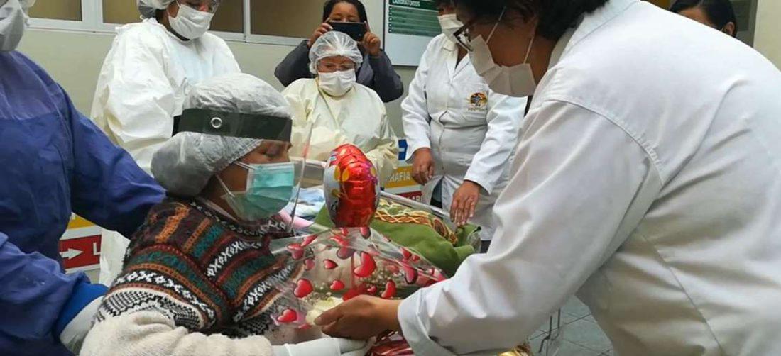 Los hospitales debieron habilitar también terapias para neonatos