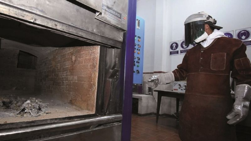 En el Cementerio General creman 10 cadáveres por día y 28 están en espera