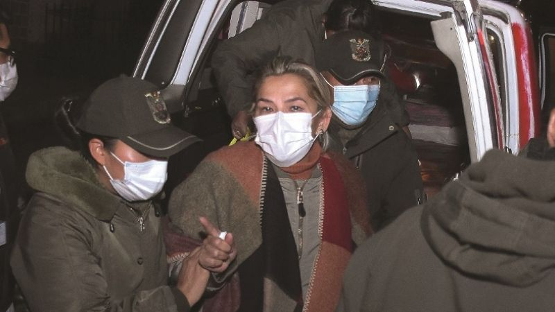 Tras aparición de video de Evo, defensa de Añez solicita la anulación del proceso