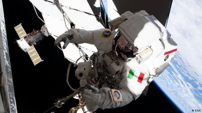 Spacewalk Astronaut Luca Parmitano