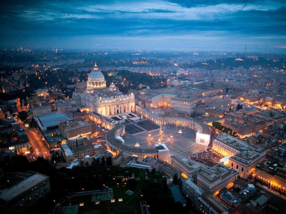 Imagen de la plaza de San Pedro del Vaticano