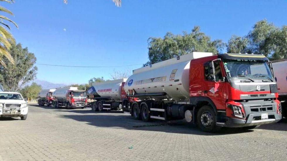 Tarija: Cisterna transportaba en su interior cerveza de contrabando