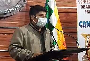 El senador Loza habló sobre el video de Evo Morales