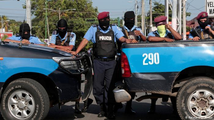 Nicaragua Symbolbild Polizei Unruhen