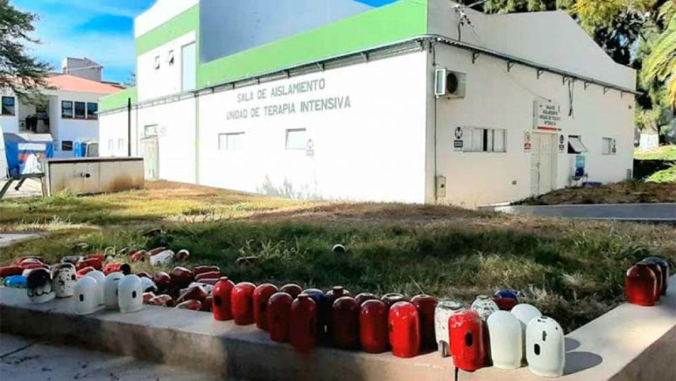 Hospital de Tarija no recibió oxígeno anunciado por el Gobierno nacional