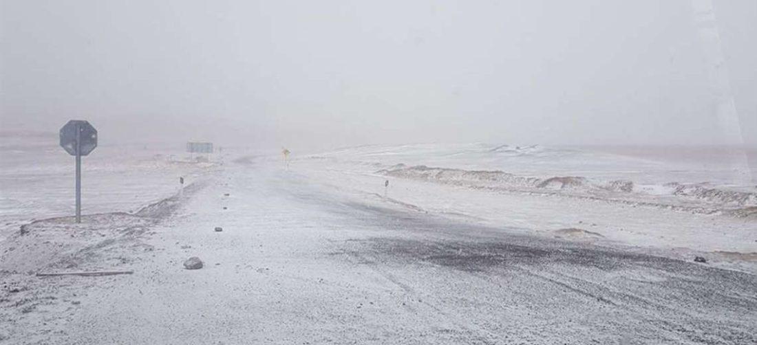 La nevada en la frontera I redes.
