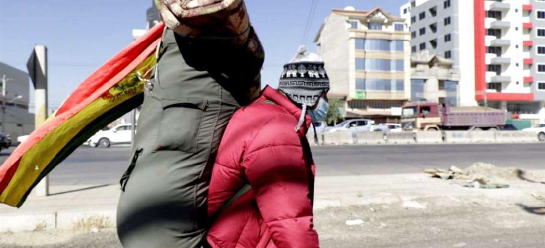 Bolivia sigue en la punta de la curva de la tercera ola