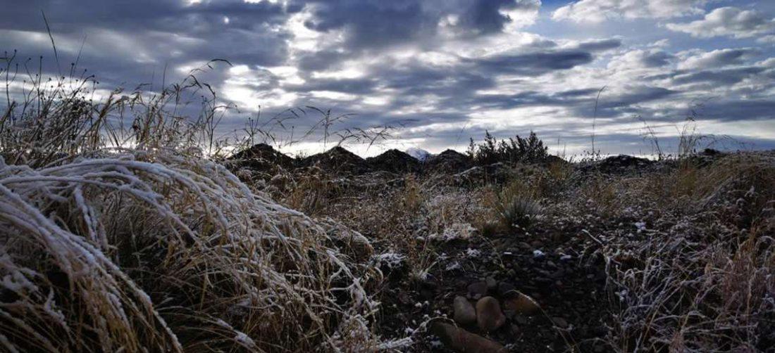 La nevada se produjo en las primeras horas de este lunes en El Alto