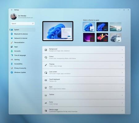 Nuevo Panel De Control Windows 11