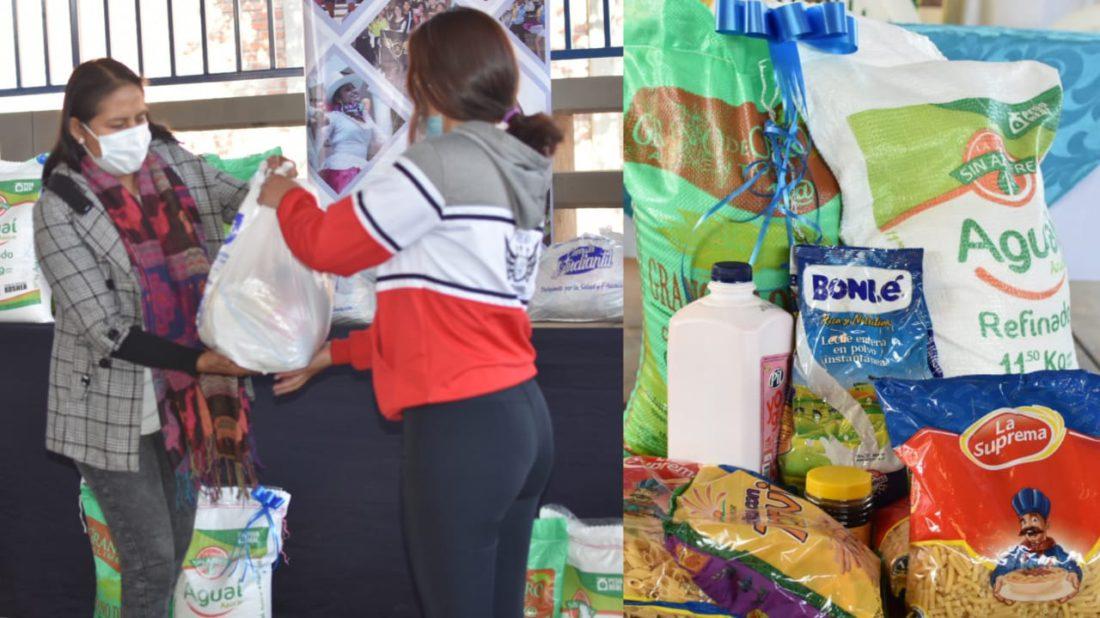 Sacaba inicia la entrega de la canasta estudiantil y es el primero en Cochabamba - Cochabamba - Opinión Bolivia