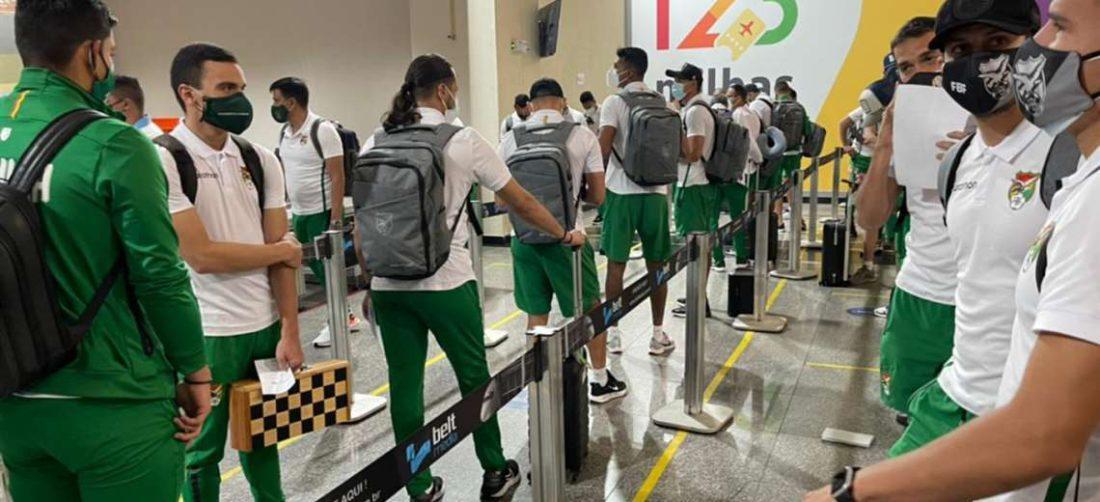 Bolivia vuelve más temprano de lo esperado de la Copa América. Foto: FBF