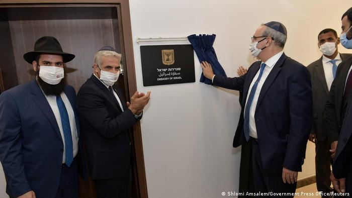 Vereinigte arabische Emirate | Israels Außenminiter Yair Lapid zu Besuch in Abu Dhabi