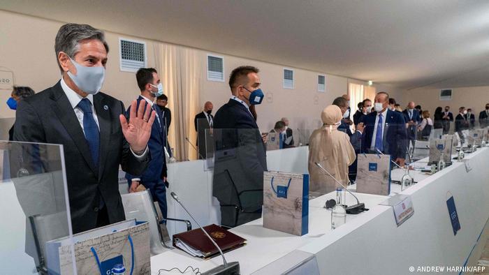 Italien Matera   Treffen G20-Außenminister   Blinken