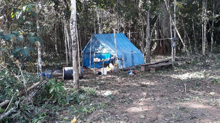 Asentamiento ilegal en San Ignacio