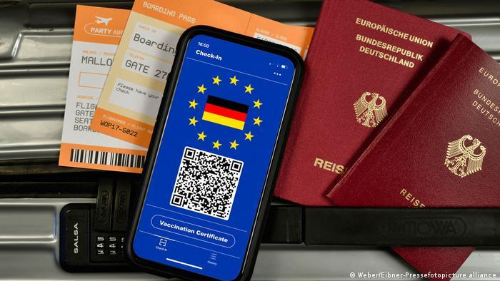 Certificado de vacunación electrónico de la UE: NO es necesario para ingresar desde terceros países.