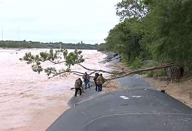 La Policía investiga la muerte de un joven cerca del río Piraí