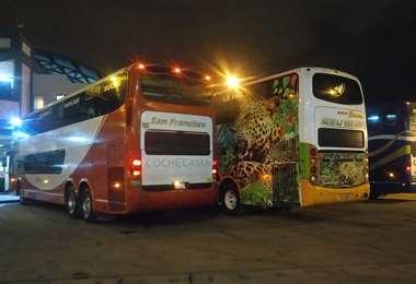 Terminal de buses en Cochabamba - Foto referencial
