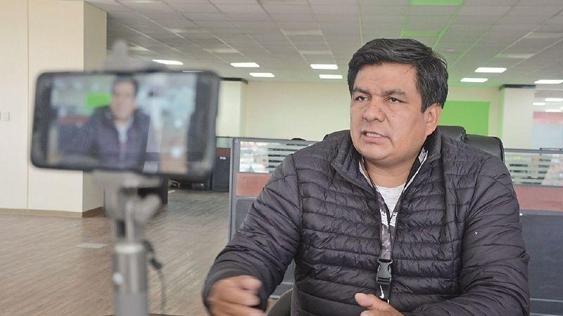 Aguilar: En la Fiscalía mostraré los mensajes en que Salvatierra nos instruyó renunciar