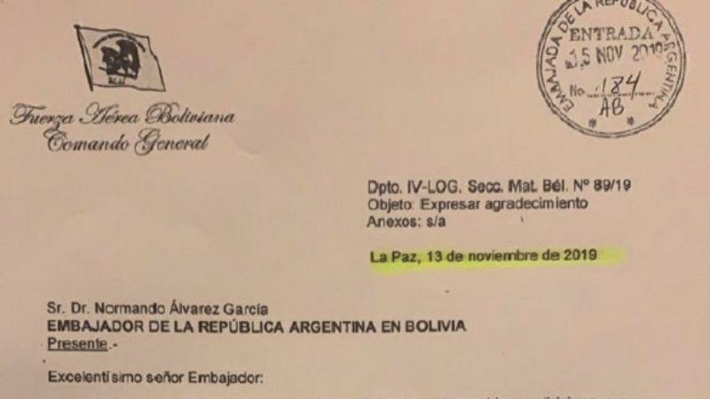 Abogado de Terceros dice que la carta a Álvarez es «falsificada»