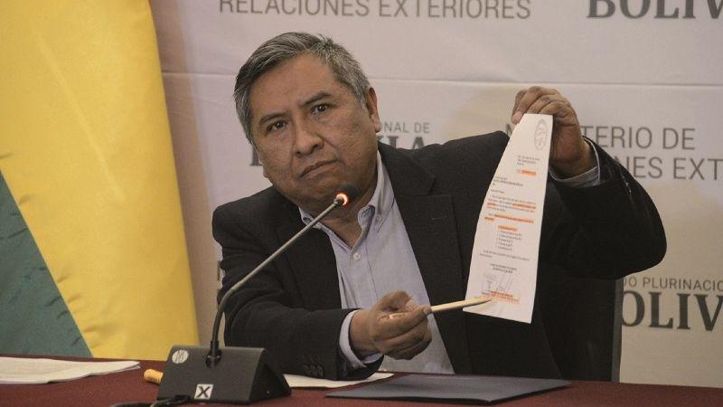 Bolivia Verifica: Carta de Terceros agradeciendo al Gobierno argentino es falsa
