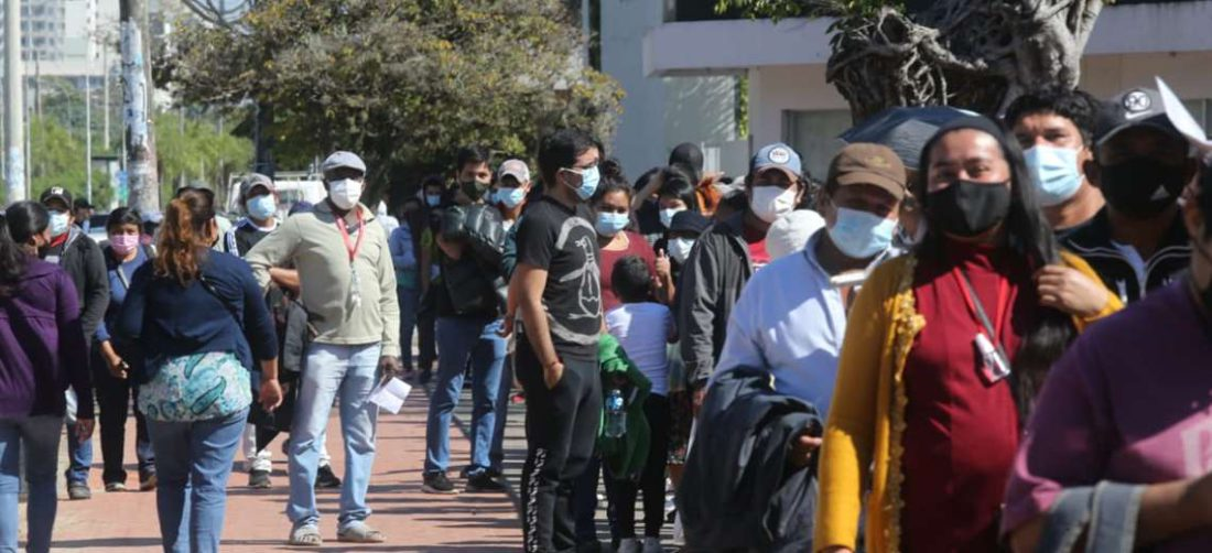 Foto El Deber: el pasado fin de semana se registró una masiva afluencia de personas