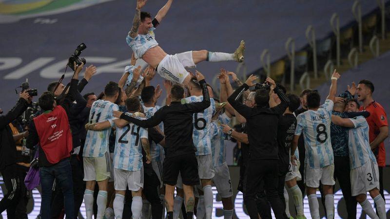 ¡Argentina es el rey de América!