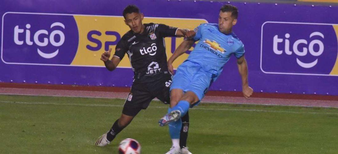 Bolívar dominó el partido, pero careció de efectividad y lo aprovechó Real SC. Foto: APG