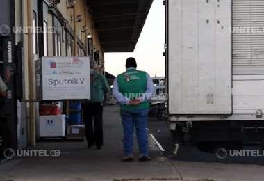Un nuevo lote de vacunas Sputnik V llegó a Santa Cruz