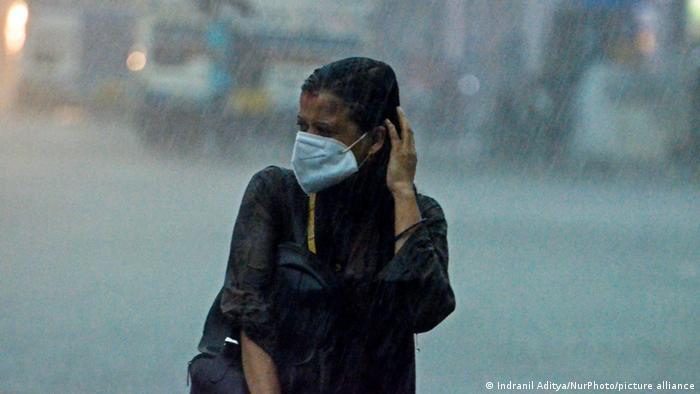 Imagen de las tormentas en Kolkata tomada el miércoles pasado.