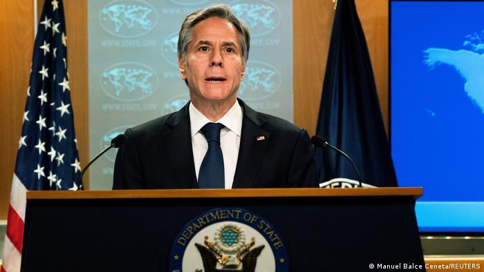 USA Aussenminister Antony Blinken