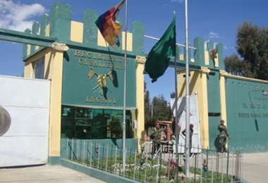 El cuartel Ingavi. Foto: Archivo