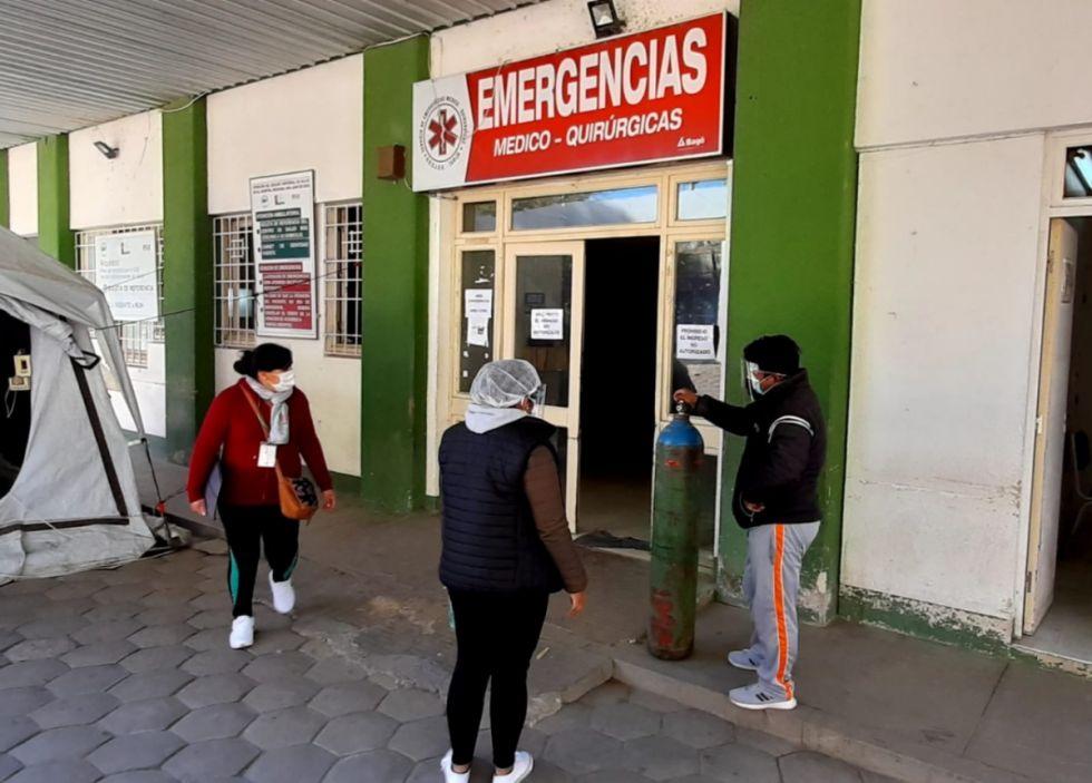 Terapia Intensiva: Falta de oxígeno obliga a rechazar pacientes Covid en Tarija