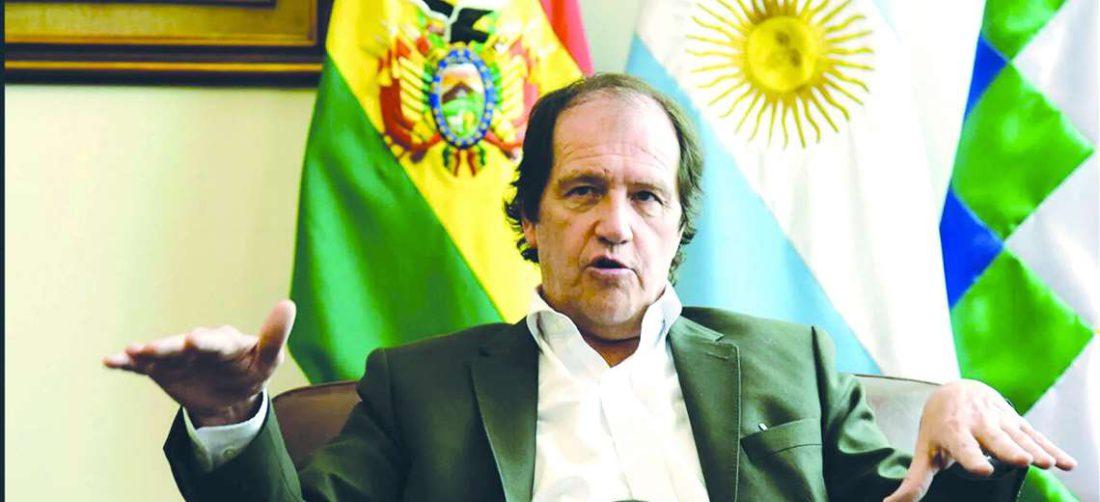 Ariel Basteiro, embajador de Argentina en Bolivia I archivo.