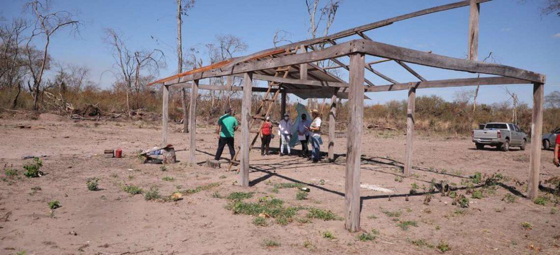 Comisión de la ALD visita comunidades irregulares en Roboré