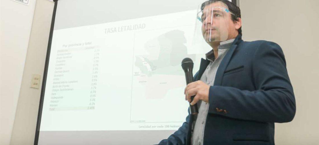 Sedes expone estadísticas sobre el Covid-19