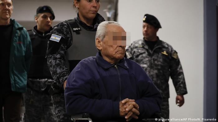 Argentinien Mendoza   Gerichtsverhandlung wegen sexuellem Missbrauch durch Priester: Nicola Corradi