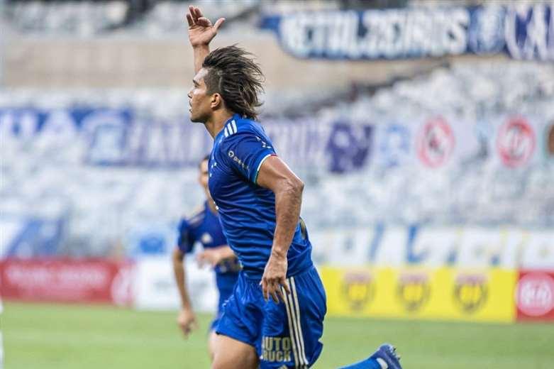 Martins es el máximo goleador extranjero en la historia del Cruzeiro. Foto: Cruzeiro