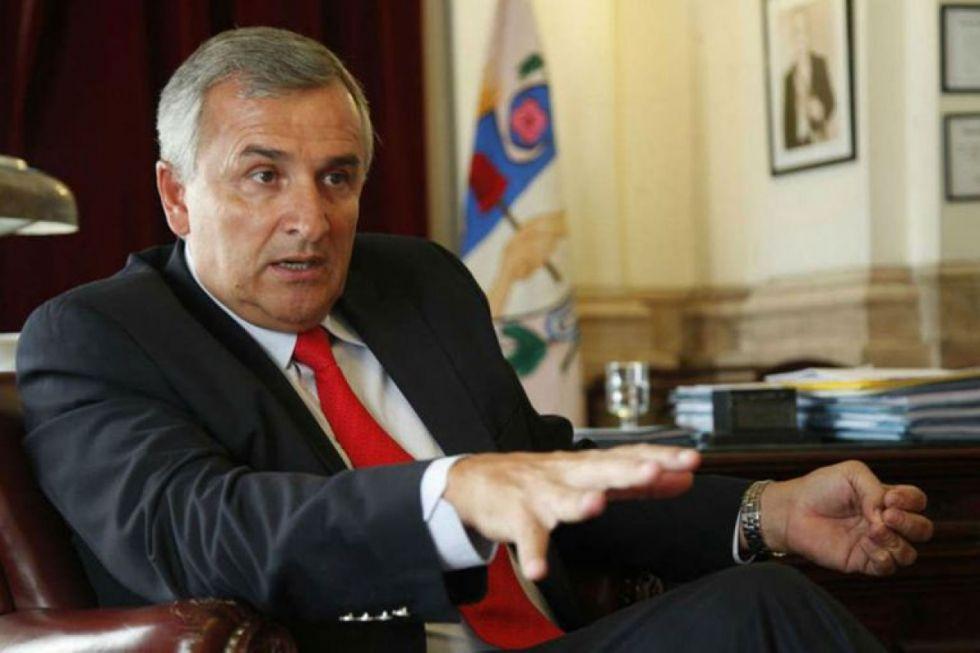 """Gobernador de Jujuy será denunciado """"por su participación en el golpe de Estado en Bolivia"""""""