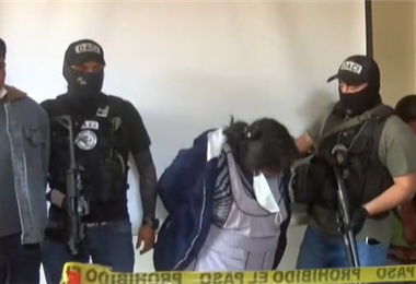 Operativo de la Felcc en Cochabamba