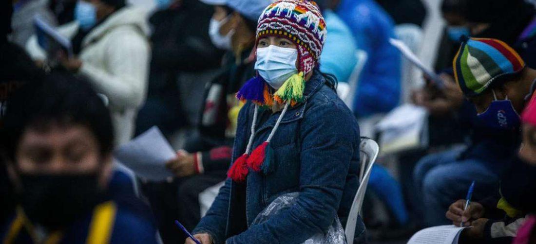Frío en Santa Cruz